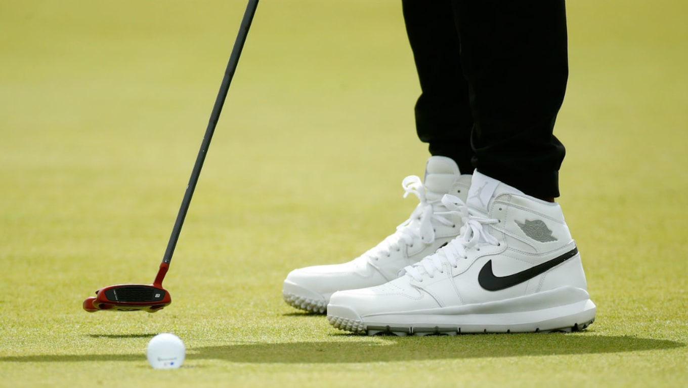 31ce55c62 ... Jordan 1 Golf Shoes. Taking flight at the Open Championship.