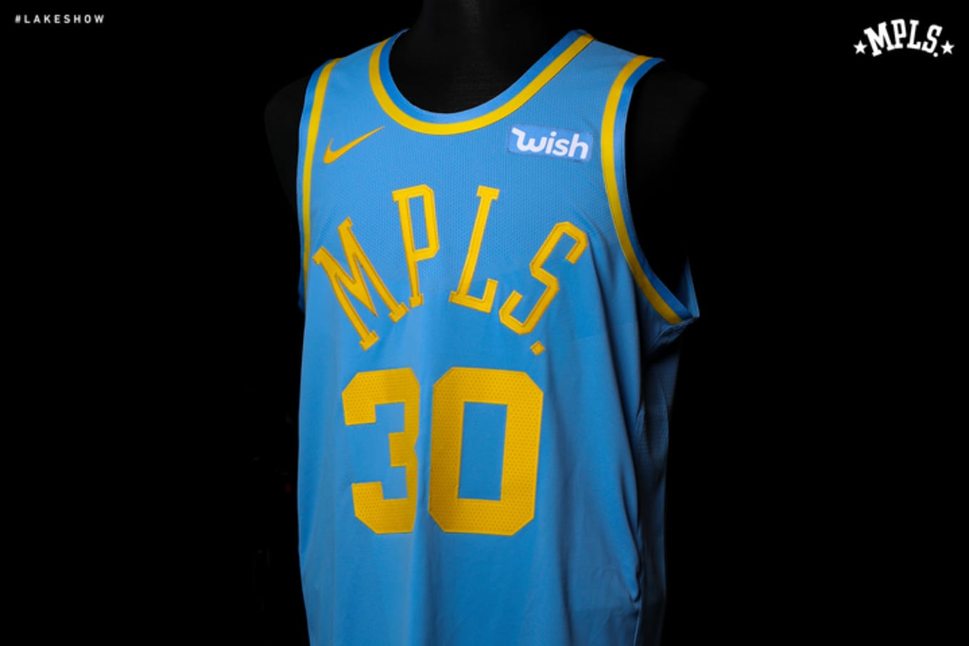 buy online 06319 4873c Los Angeles Lakers Reveal 'MPLS' Nike Classic Jersey | Sole ...