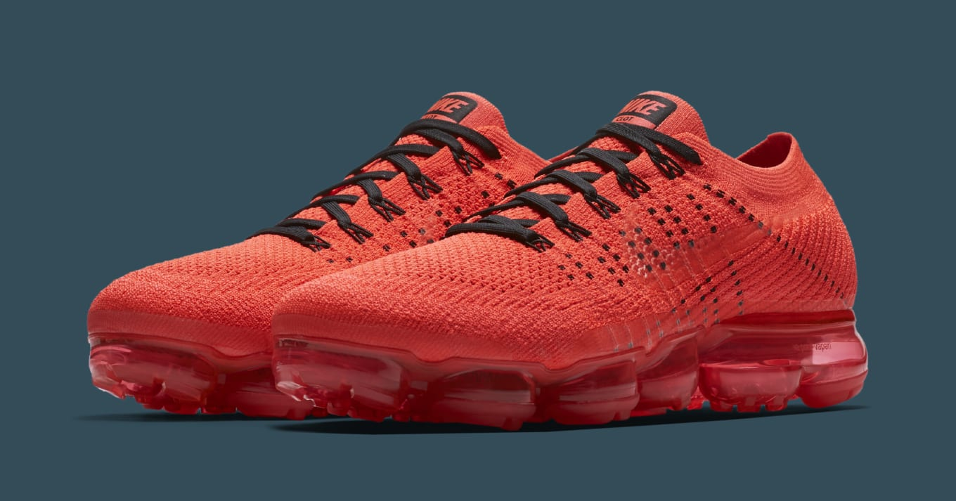 2d37c6f2787 Clot Creates All-Red Nike Air VaporMaxes. Here s a full look at the  upcoming sneaker.