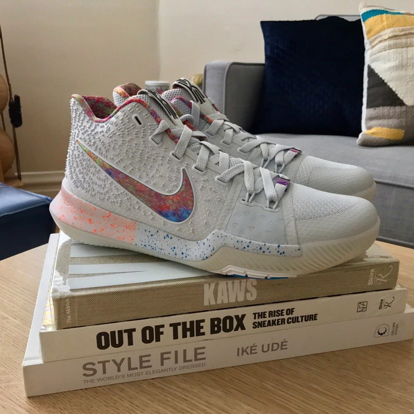 reputable site d463e 9f627 EYBL Nike Kyrie 3   Sole Collector