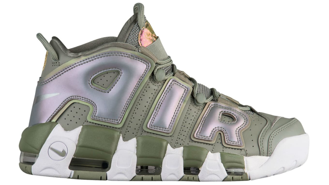 Nike Air More Uptempo Women s Shine Dark Stucco Release Date 917593 ... 99a52728a3
