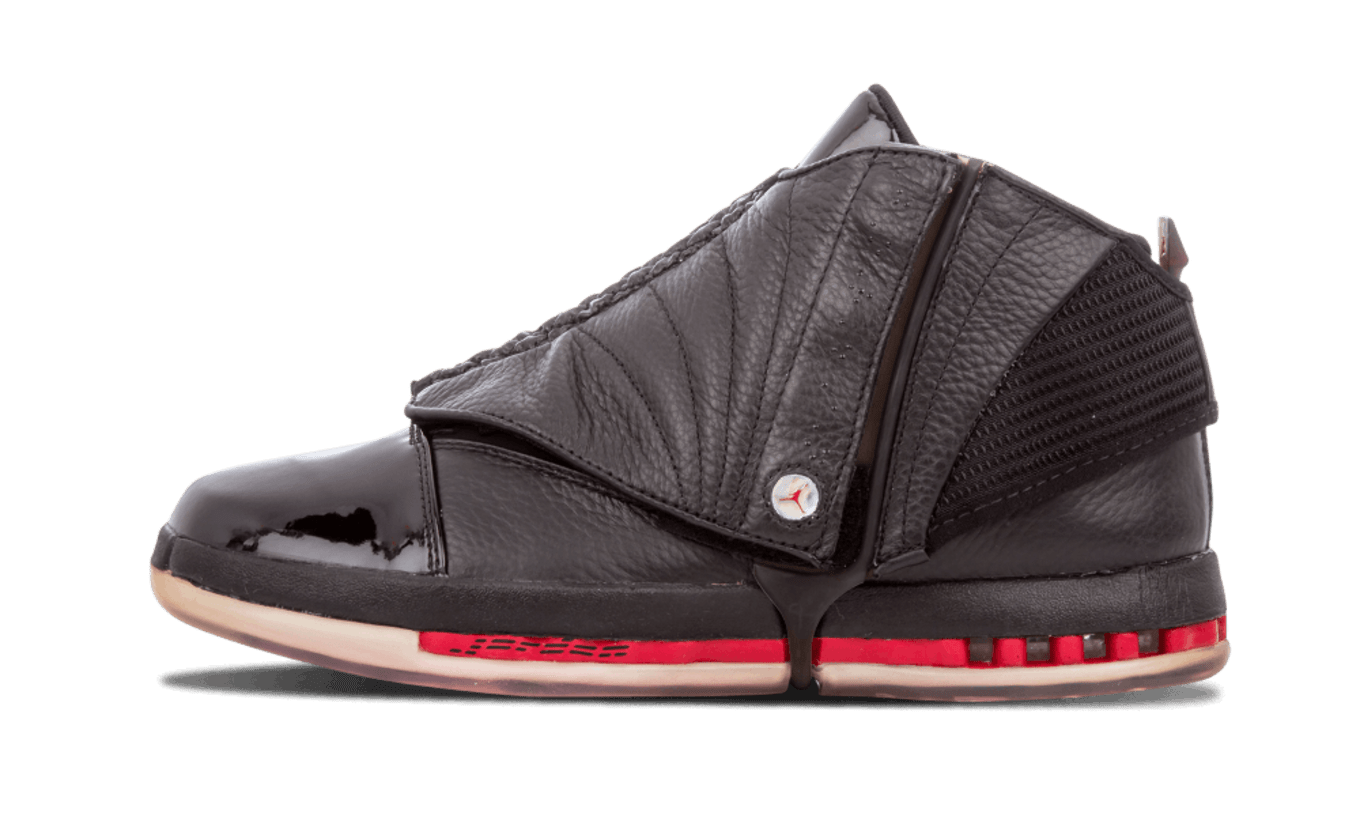 new style d146f 049a3 Air Jordan 16  Black Red