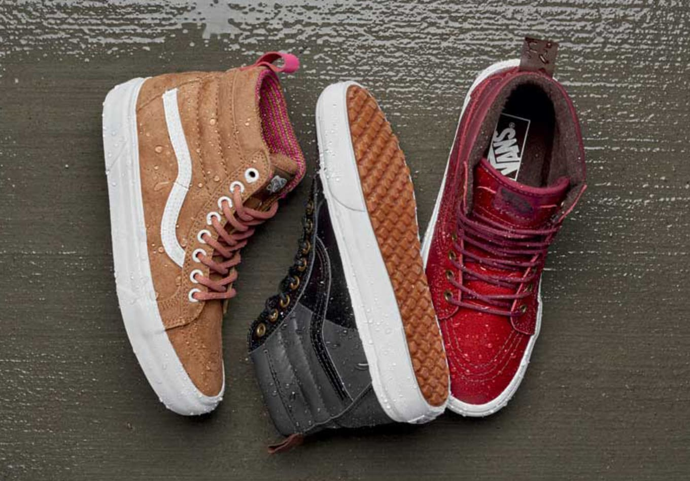ea07e41ce4 Vans Made Sneakers You Can Wear in Any Weather. The latest from Vans   rugged MTE collection.