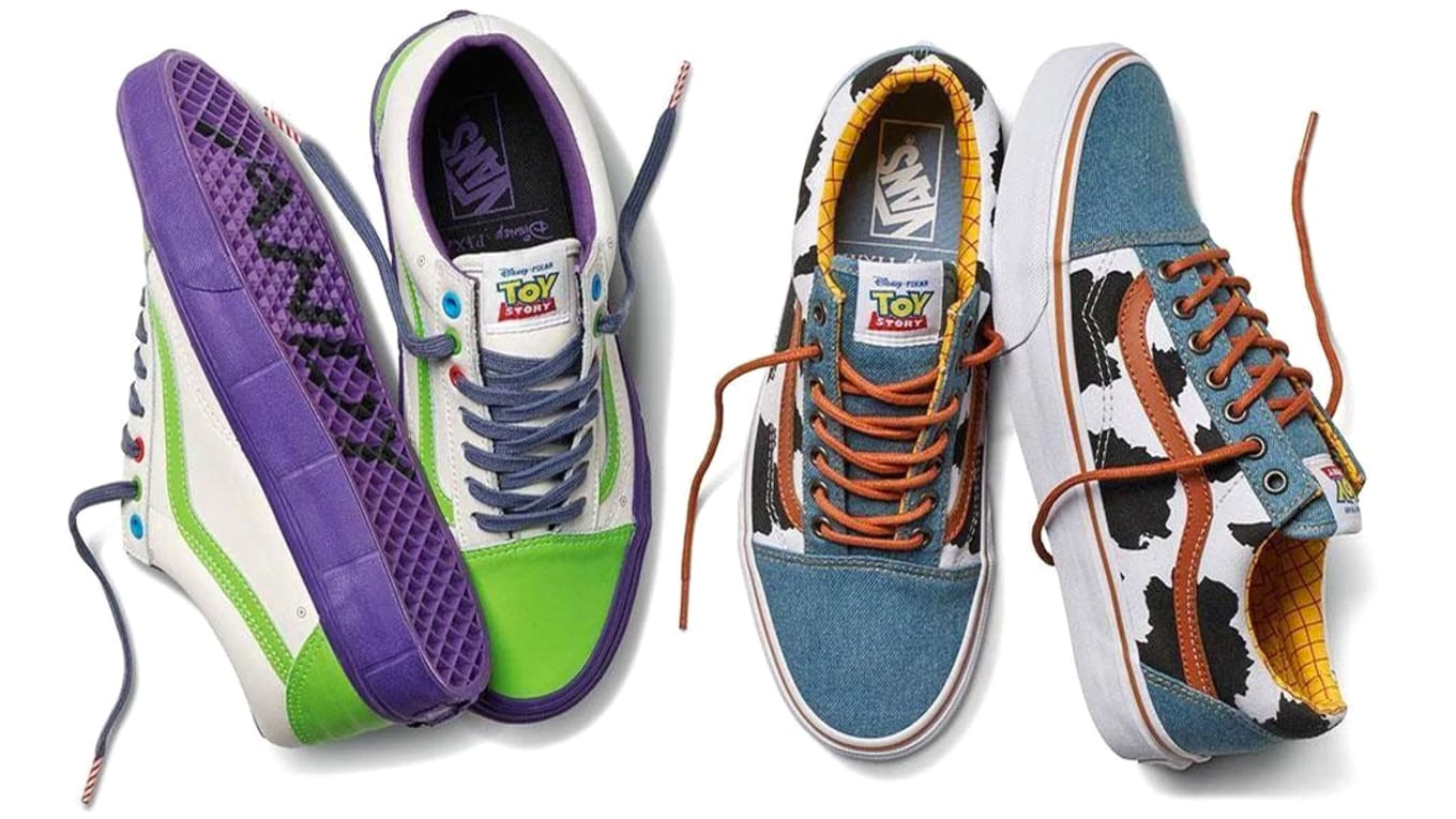 buy online a2f30 80def Vans Really Made Toy Story Sneakers