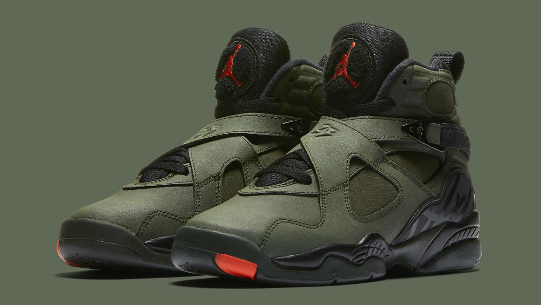 the best attitude sports shoes classic fit UNDFTD Air Jordan 8 Sequoia Orange 305381-305 Release Date ...