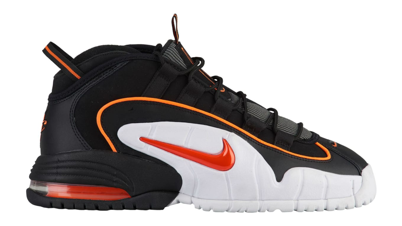 df48d5b7d401 Nike Air Max Penny 1 Black Total Orange White Release Date 685153 ...