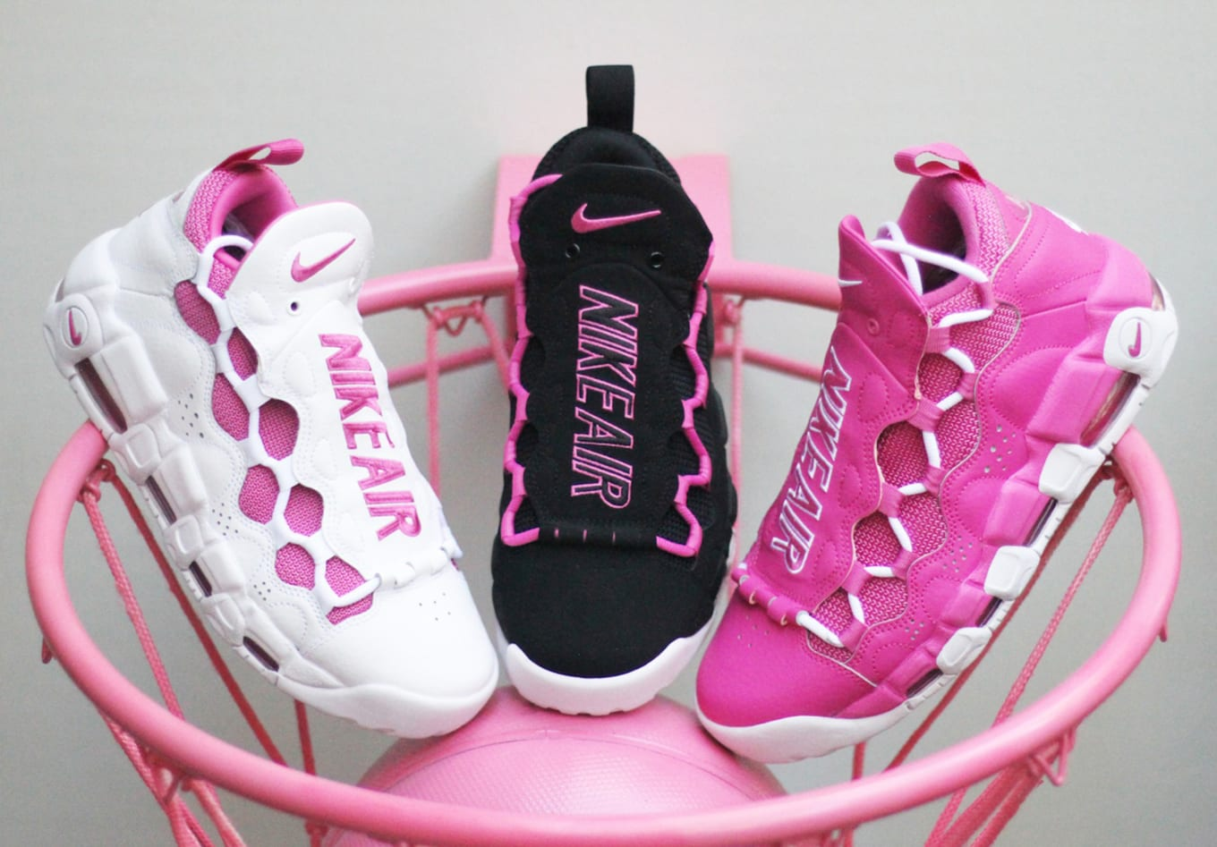 1dbd6b6fc3386 Reggie Miller s Nikes Return for Breast Cancer Awareness Release