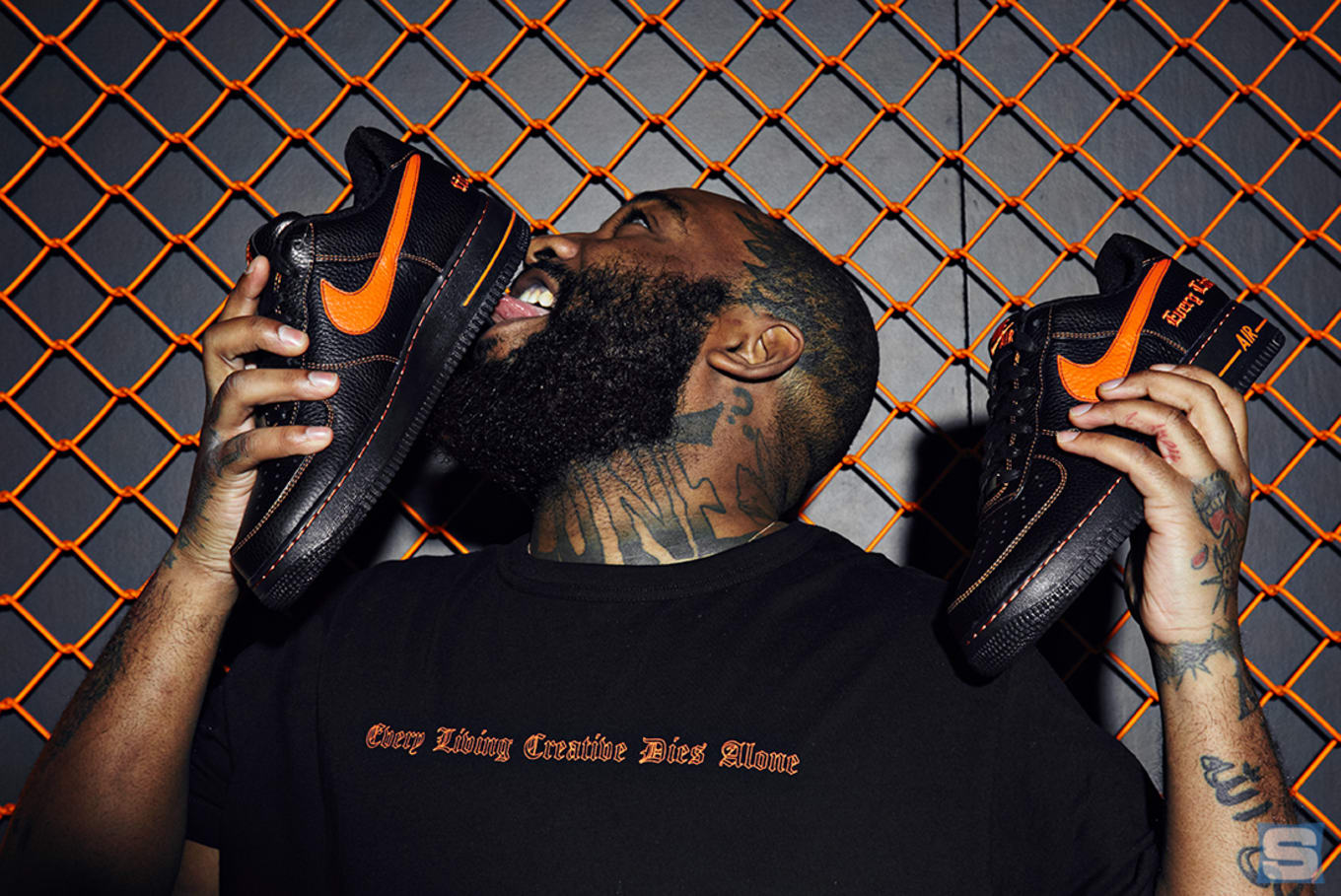 new products a64c1 990e0 ... Vlone x Nike Space in Harlem. Full info on this weekend s Air Force 1  pop-up.
