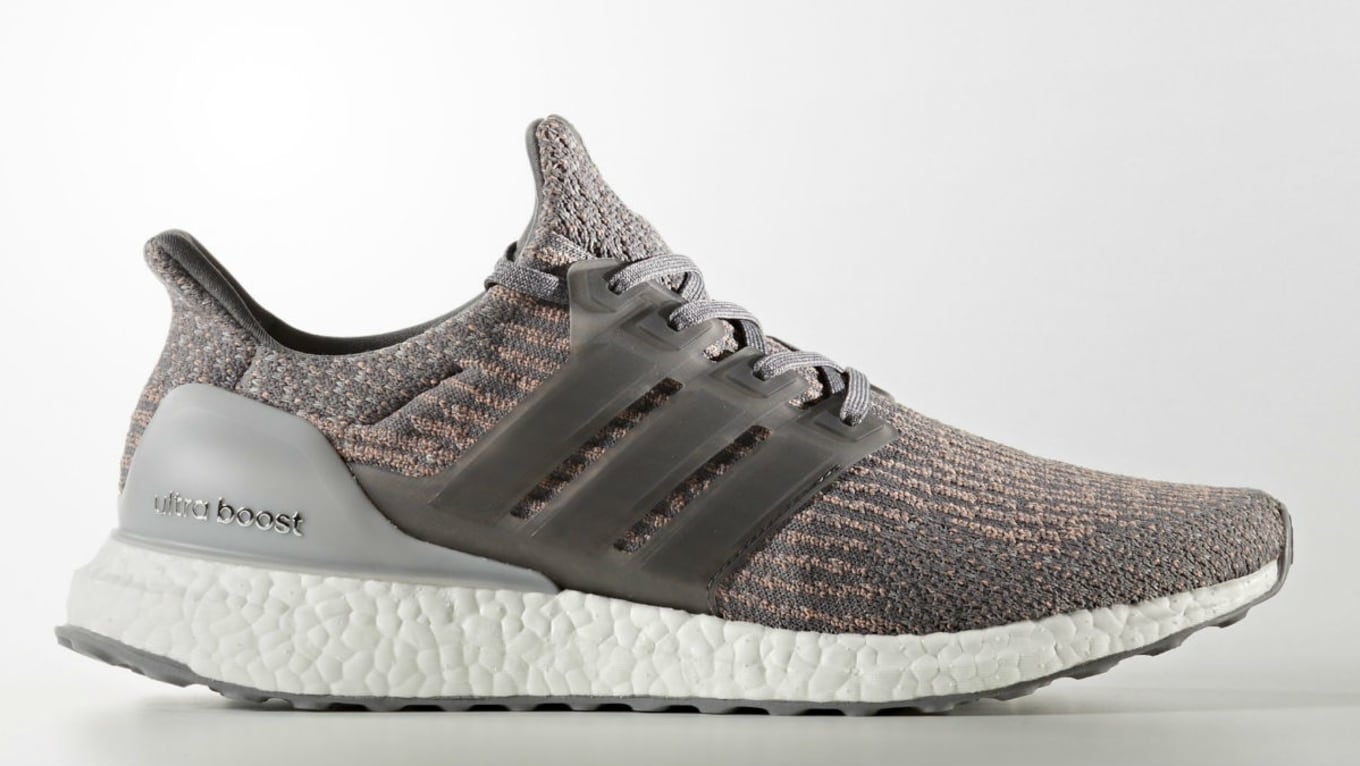 Adidas Ultra Boost Grey FourTrace Pink Release Date | Sole