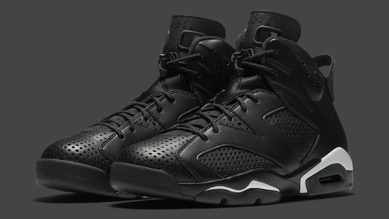4edd95d02e2157 Air Jordan 6 Black Cat Release Date 384664-020