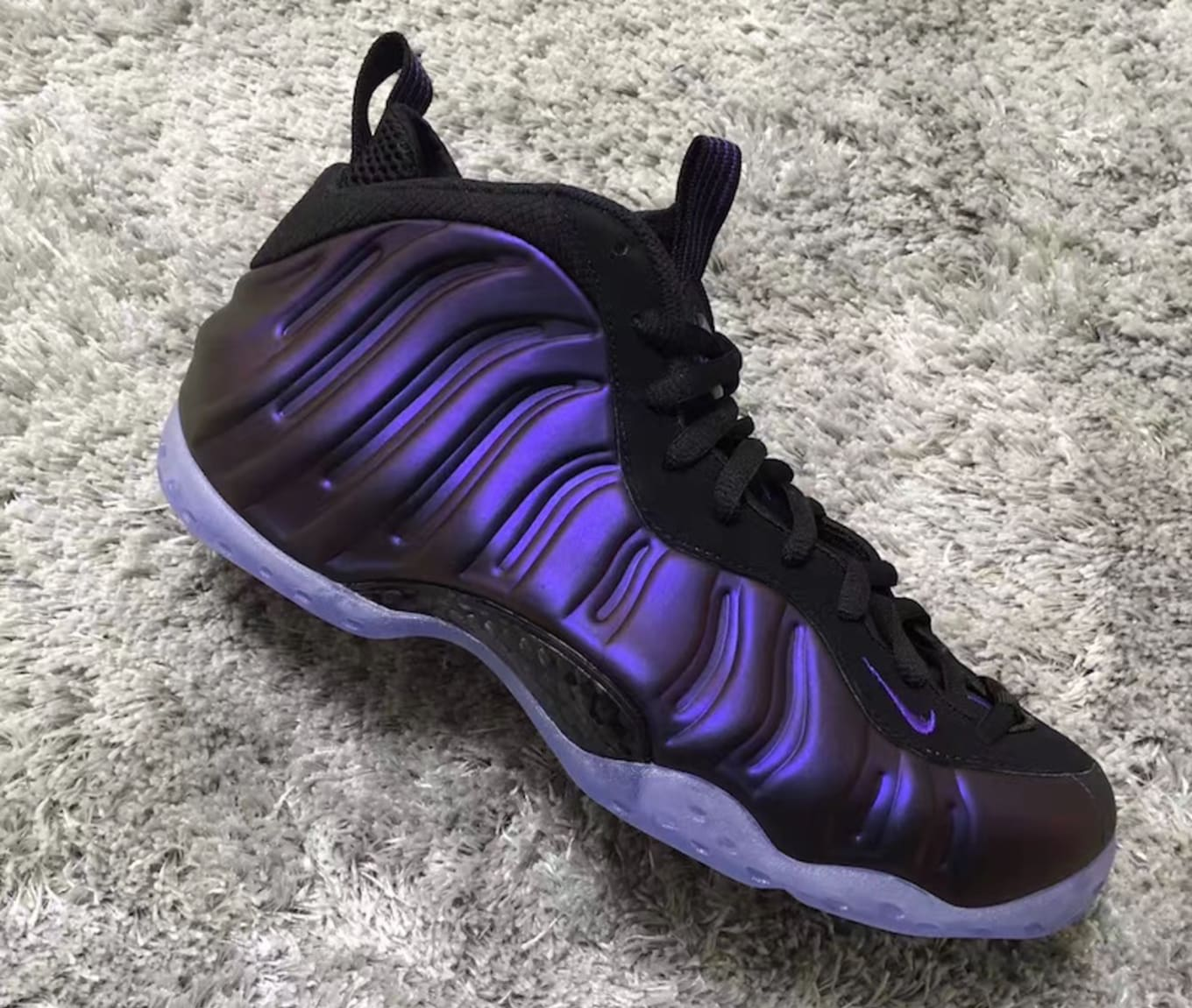 ab76bf75cee89  Eggplant  Nike Air Foamposites Are Releasing This Summer. Purple returns  to the  90s basketball icon.