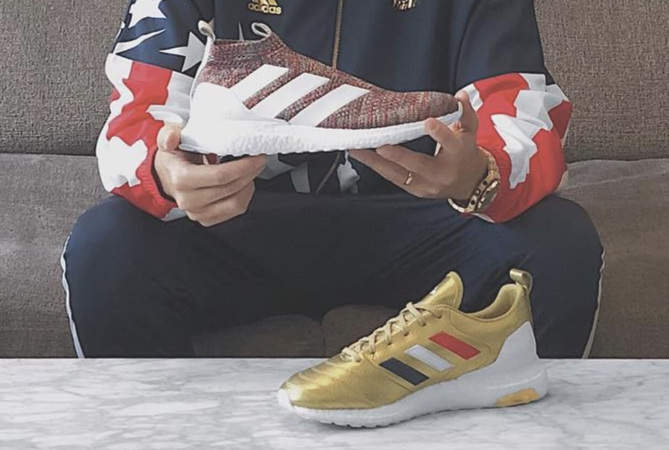 f629716c0dc Ronnie Fieg Teases Patriotic Collection With Adidas Football