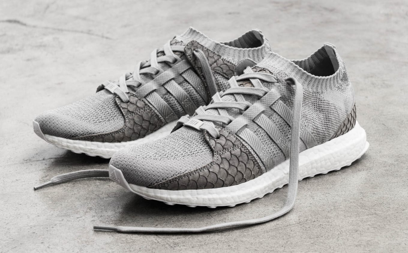 quality design 7a2d3 4c5bf Adidas Pusha T King Push EQT Gray Scale | Sole Collector