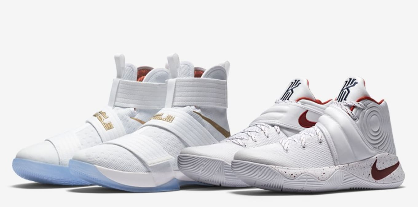 8dcab1ea7a1 Nike LeBron Kyrie Champ Pack Game 6 Unbroken