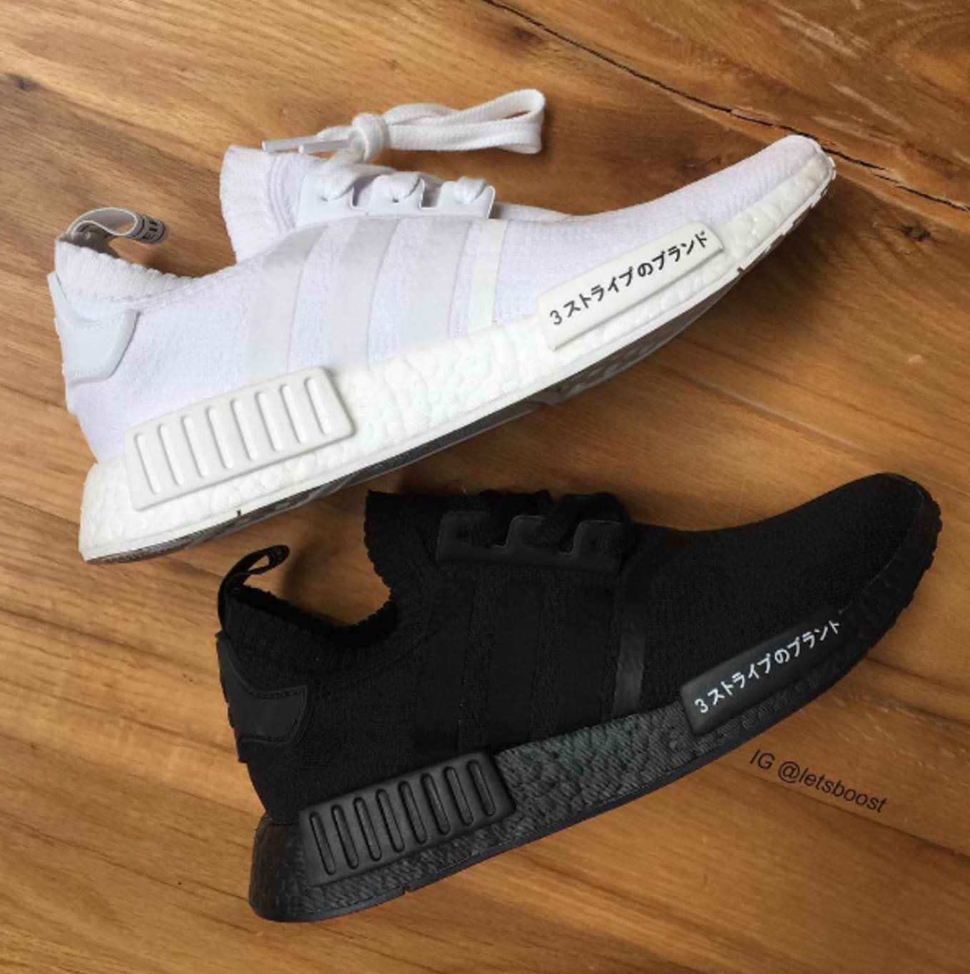 98fc8b52c106bc Adidas NMD  Japan Boost  Pack to be Released. Coming in Triple Black and  Triple White colorways.