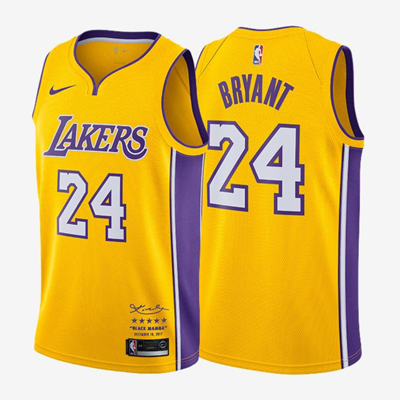4bebf1990 Nike to Release Kobe Bryant Retirement Jerseys