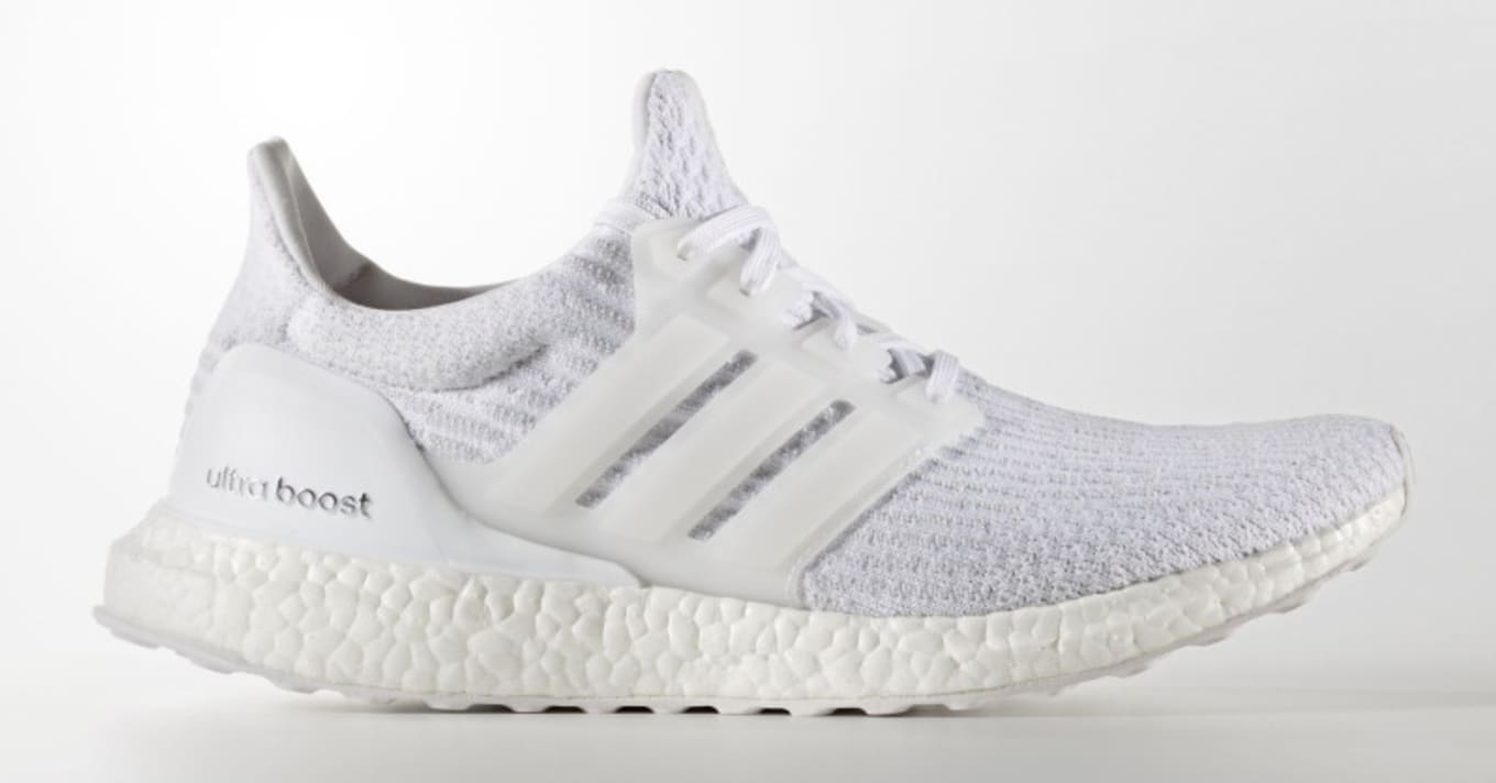11d5ee2312124 Triple White Adidas Ultra Boost 3.0 Restock