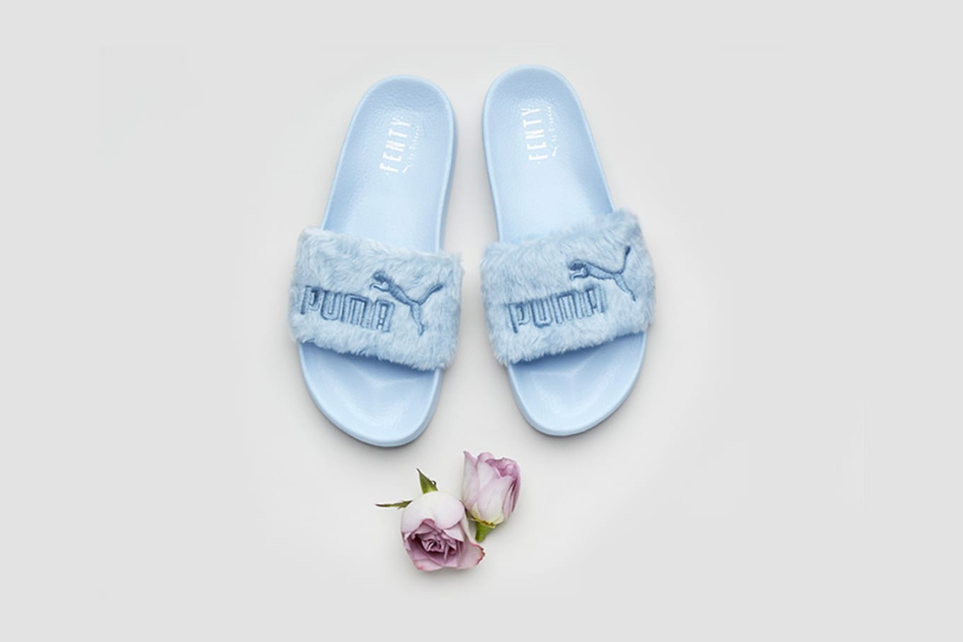 346cac2c6e0a Puma is Releasing More of Rihanna s Fenty Slides. Three new colorways of  the Fenty Fur Slide for the ladies.