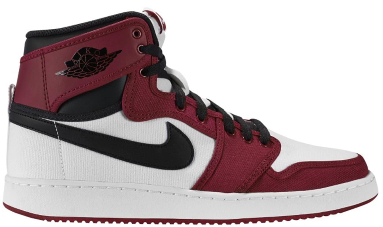 low priced 4efb1 3da89 Air Jordan 1 Retro KO High OG White Black Gym Red