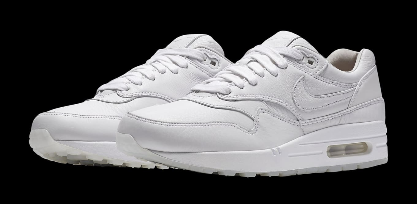 hot sale online 7bd3c fc0fc Nikes Fancy New Air Max 1s. Black and white pairs of the Air Max 1 Pinnacle .
