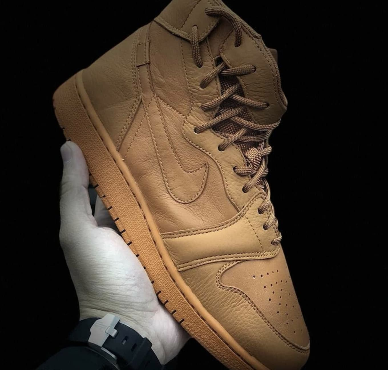 new styles 4a2d2 bb13f Air Jordan 1 Rebel 'Wheat' AO1530-800 Images | Sole Collector