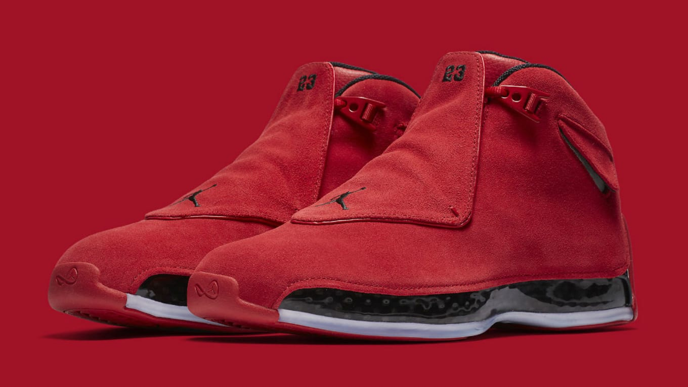 ca191c4a0689bd Air Jordan 18 Gym Red Toro 2018 Release Date AA2494-601