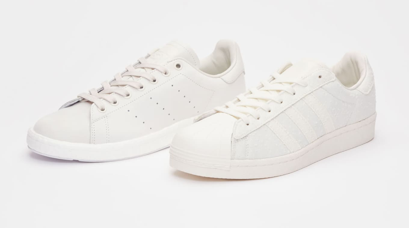 low priced e2efd fb43c Sneakersnstuff with another  Shades of White  pack.