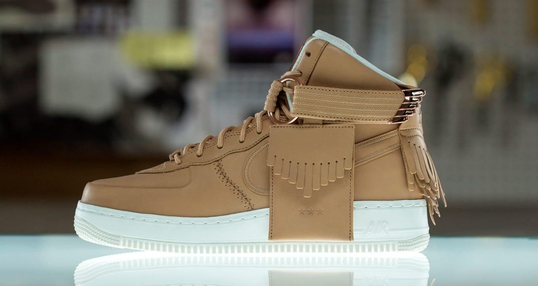 6cfeece11346 Nike Air Force 1 Sport Luxury Vachetta Tan Release Date