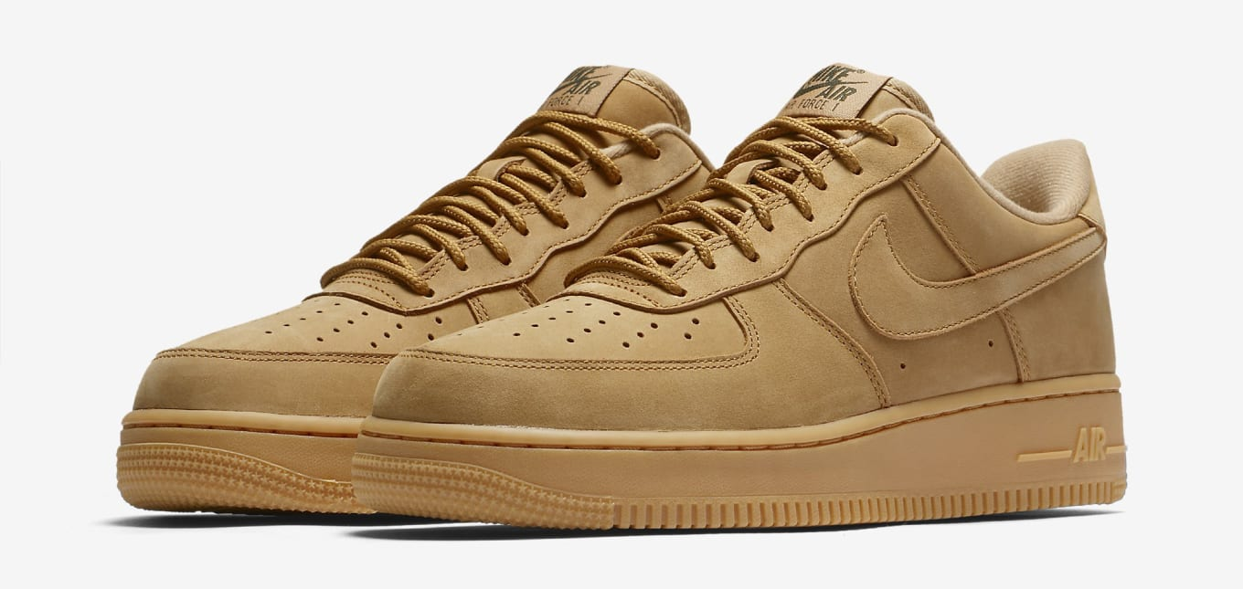 newest 770d4 58862  Wheat  Nike Air Force 1s Are Back Again