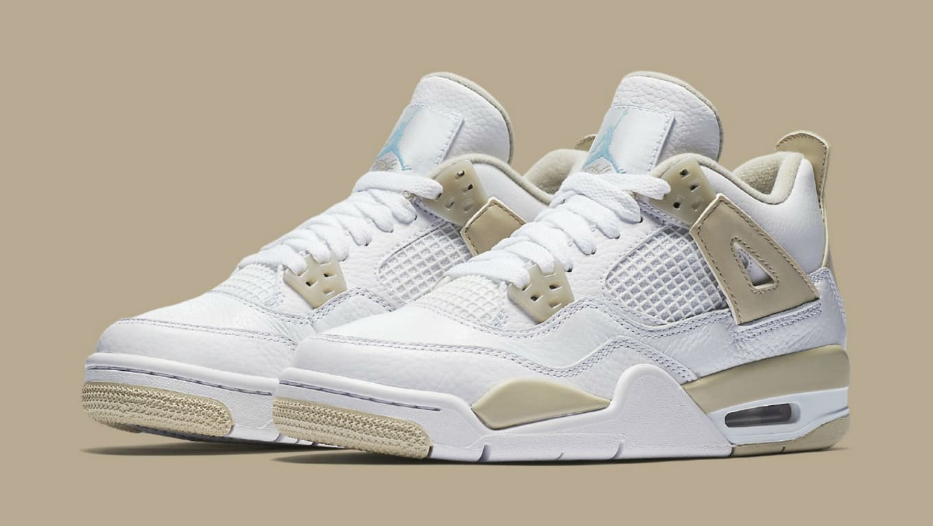a173bb36c9cd74 The  Linen  Air Jordan 4 Returns This Week. Good and bad news about the  retro.