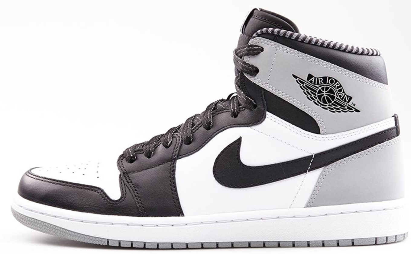 the best attitude 68f52 cee62 Air Jordan 1 Retro High OG White Black Wolf Grey