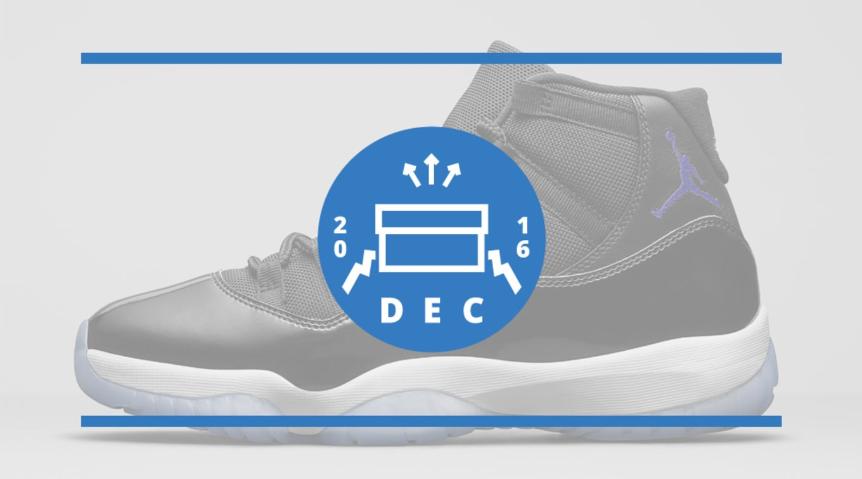 048b72ecb1d016 Air Jordan Release Dates December 2016