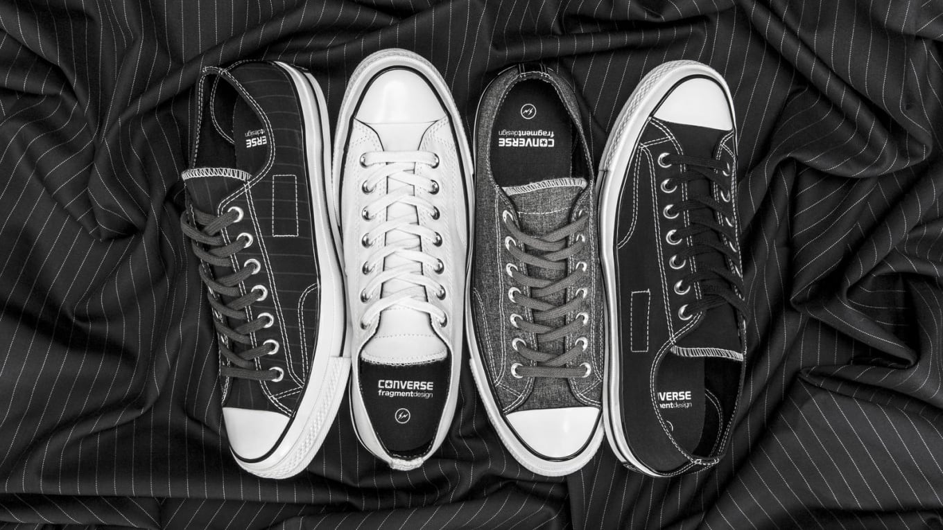 380017473af Fragment Converse Chuck Taylor 70s Low Tuxedo