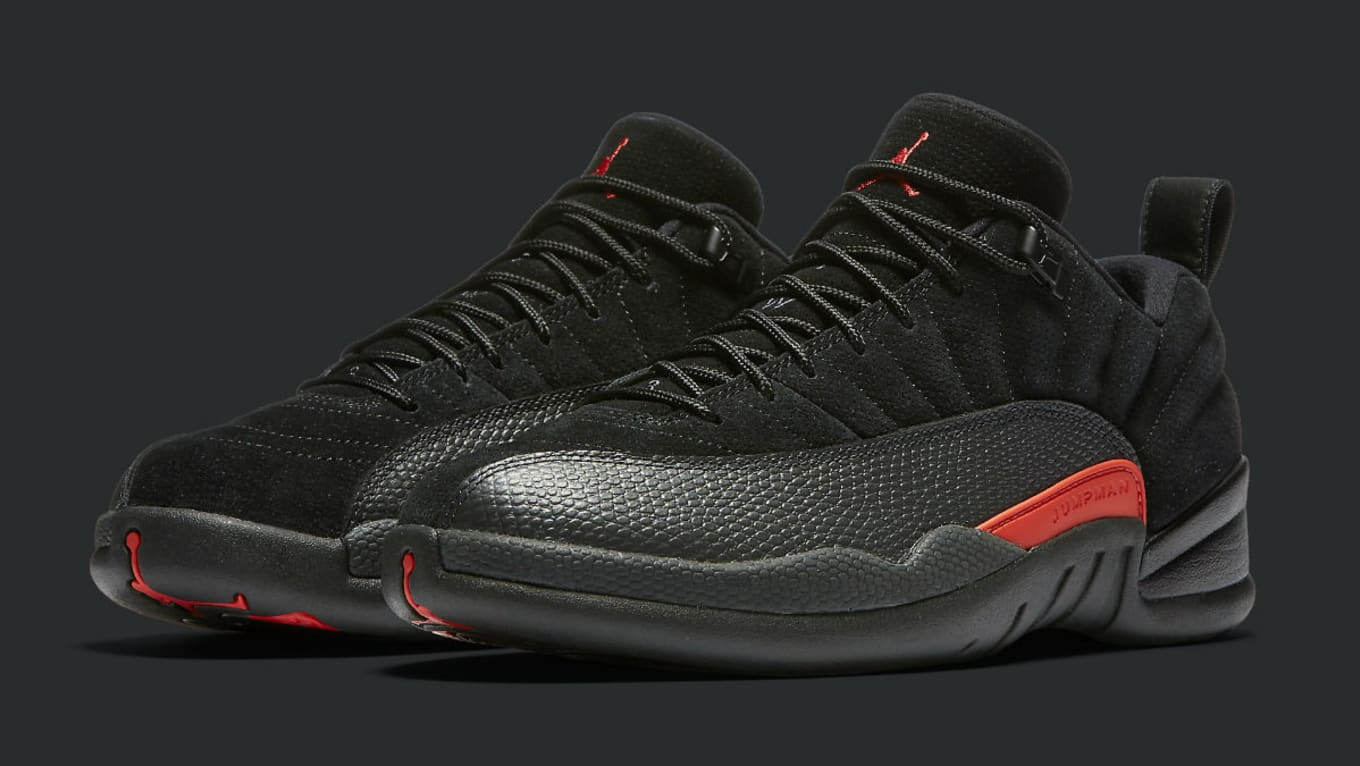 hot sale online 94441 63533 Air Jordan 12 Low Black Max Orange Release Date | Sole Collector