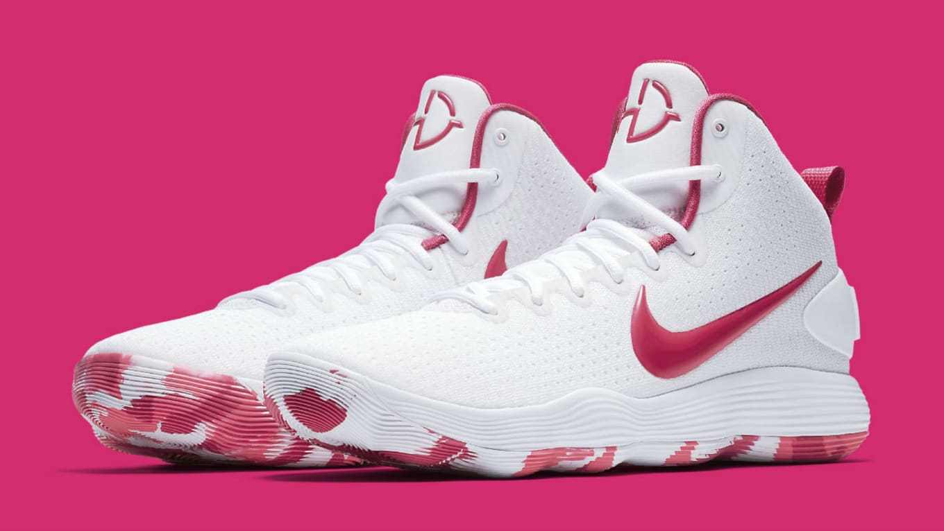 8a92f4ea27cc Nike Hyperdunk 2017 Kay Yow Think Pink Release Date 897631-100 ...