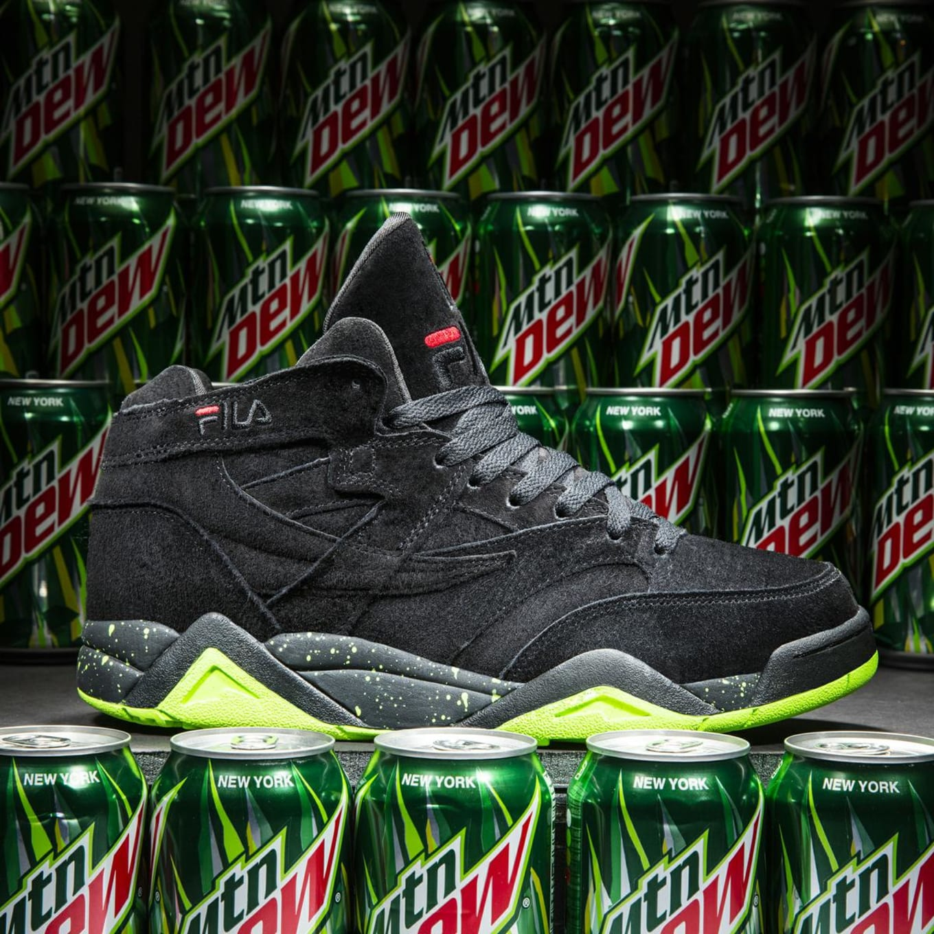 5efa956a645 FILA and Mountain Dew Pop the Top on a New Sneaker Collaboration