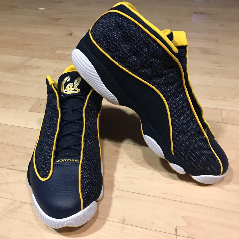 0a5fa1974091 University of California Basketball Team Gets Exclusive Air Jordan 13s