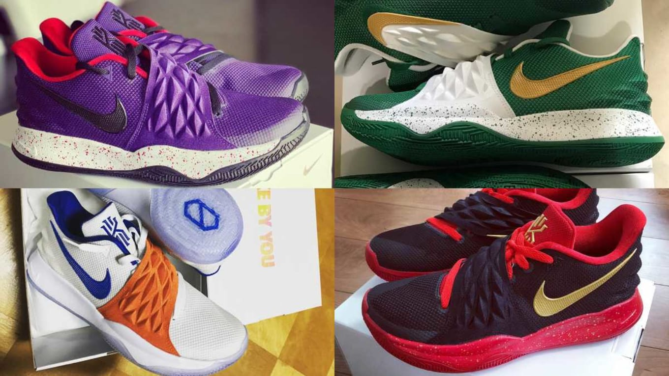 big sale 0a8a2 3f99d NIKEiD Kyrie Low Designs   Sole Collector
