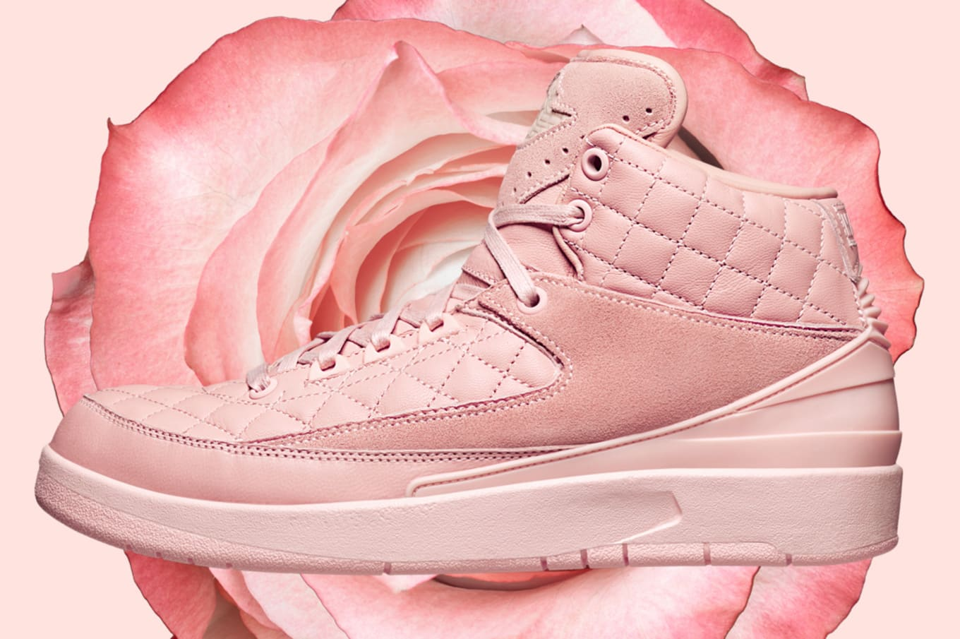 And it s starting with the pink Don C x Air Jordan 2. 6d9c4fe5c