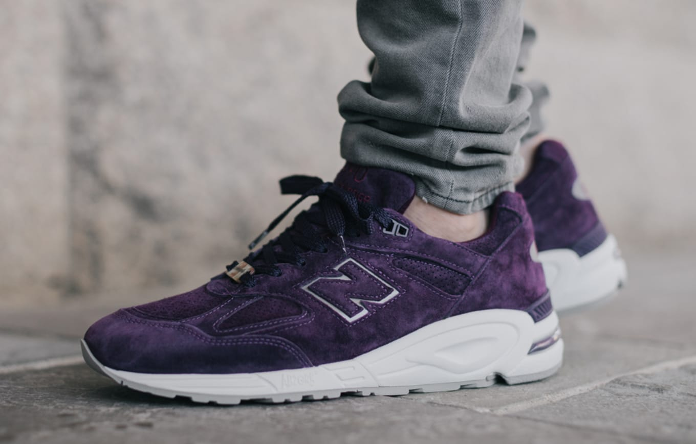 hot sale online 32138 2a255 Concepts New Balance 990V2 Tyrian | Sole Collector