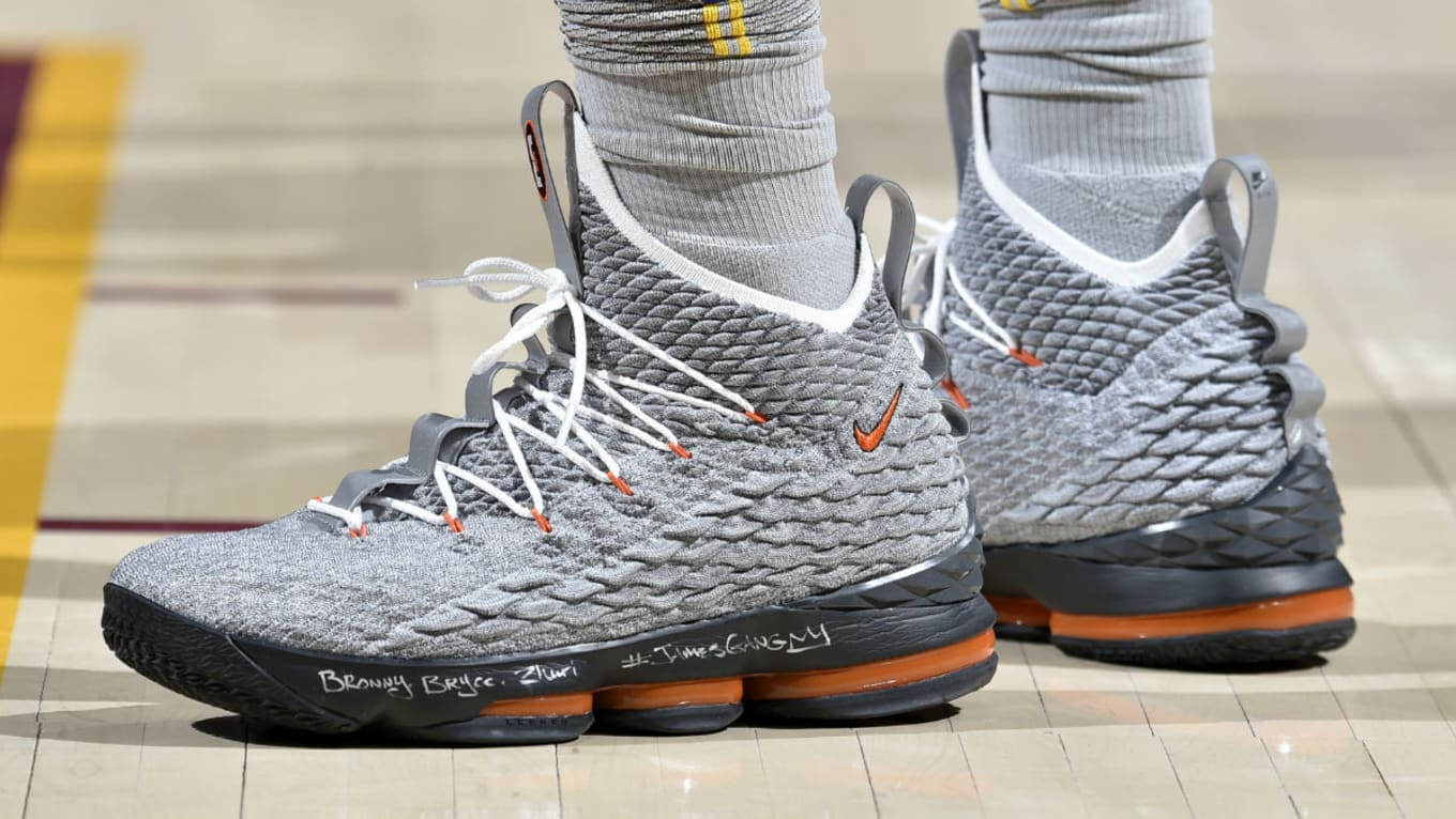 new concept de67c 69ca2 Nike LeBron 15 Orange Air Max 95 | Sole Collector