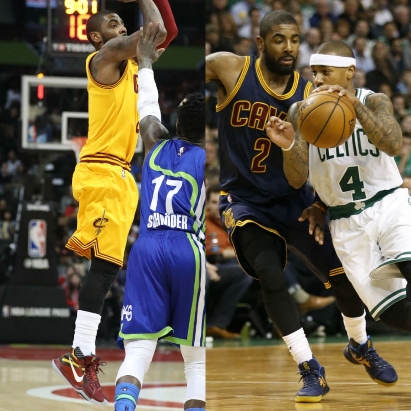 3def7c005 Images via Jason Getz   Greg M. Cooper for USA Today Sports. Team  Cleveland  Cavaliers