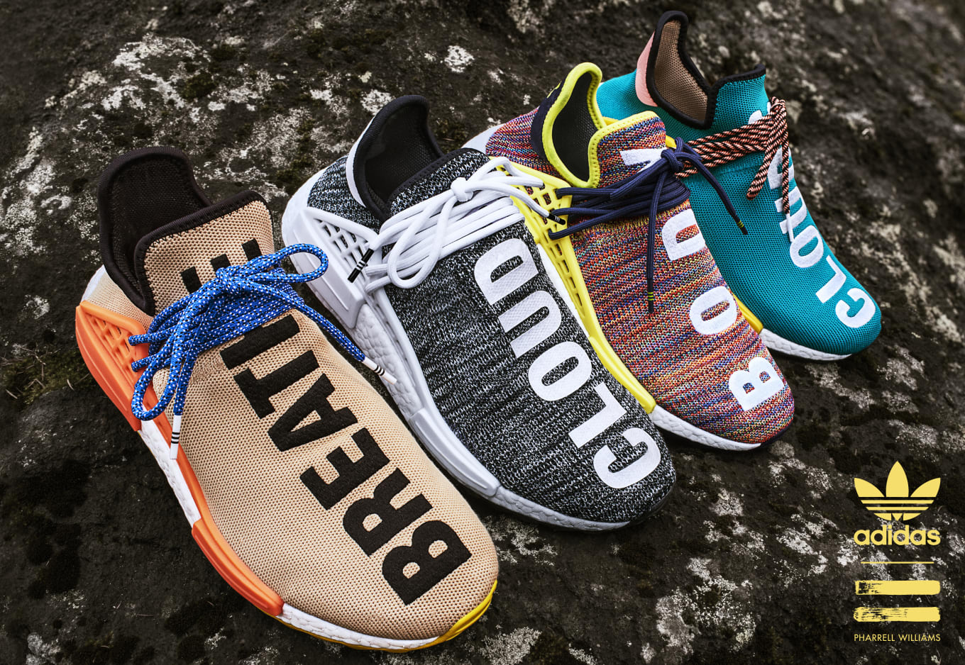 2349848568896 Pharrell x Adidas Originals Hu NMD TR  Hiking Collection  AC7361 ...