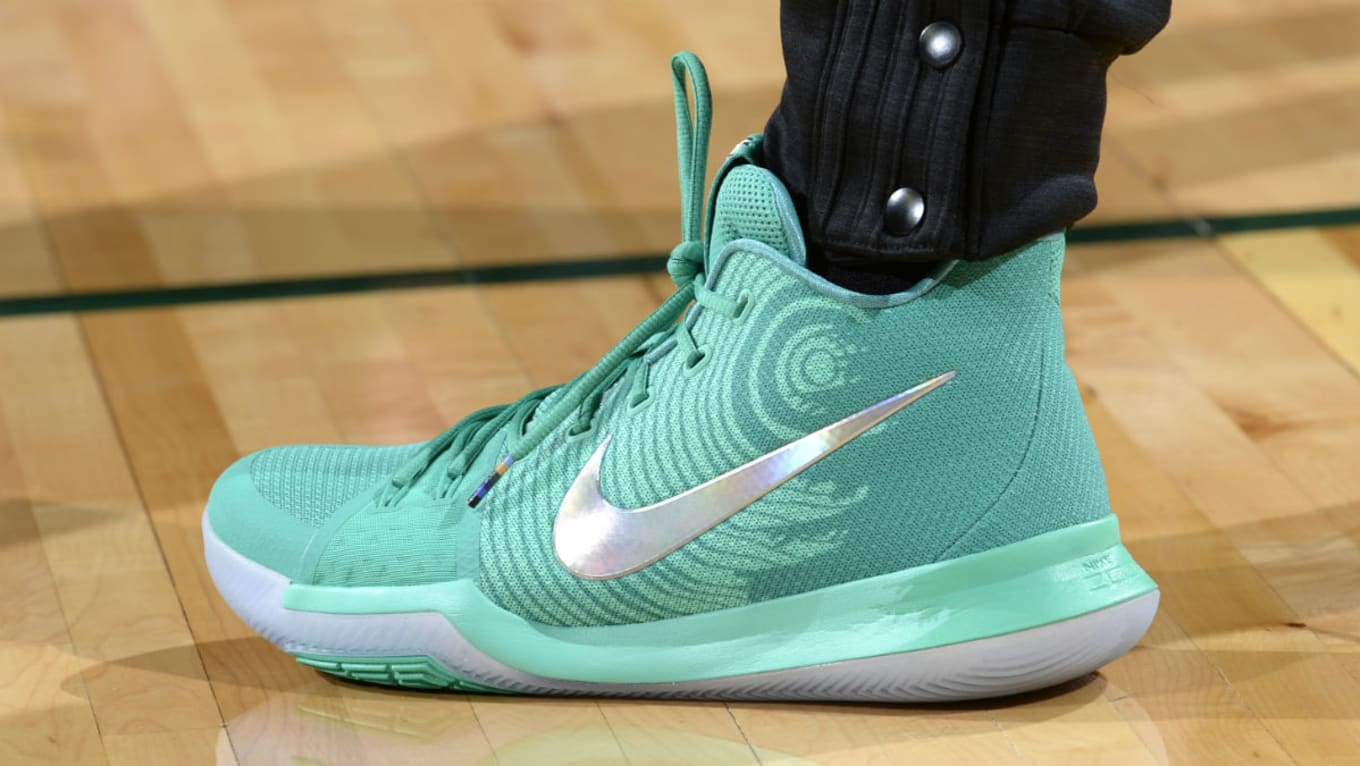 separation shoes e0c28 e7a2a  SoleWatch  Tina Charles Wears Nike Kyrie 3 PE in the WNBA All-Star Game