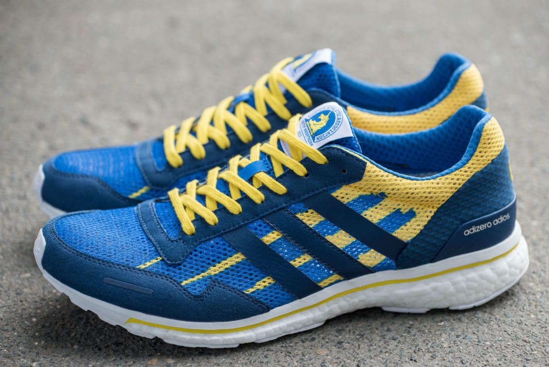 Adidas Made Boost Sneakers for the Boston Marathon. The Adizero Adios is  ready to run. 5c850e52a
