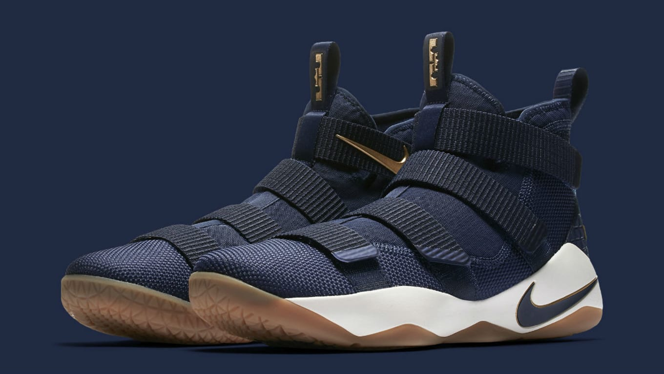 nike lebron soldier 11 navy blue