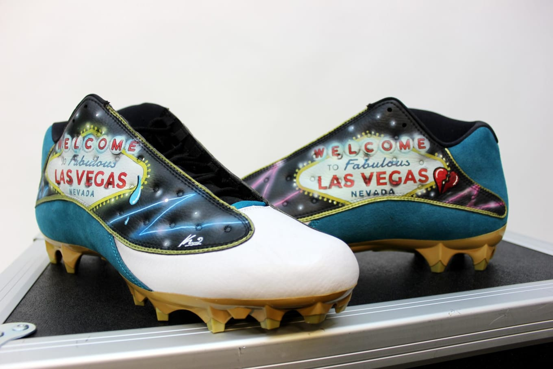 73e018ae25e5 Jalen Ramsey to Honor Las Vegas Shooting Victims on Custom Air Jordan Cleats