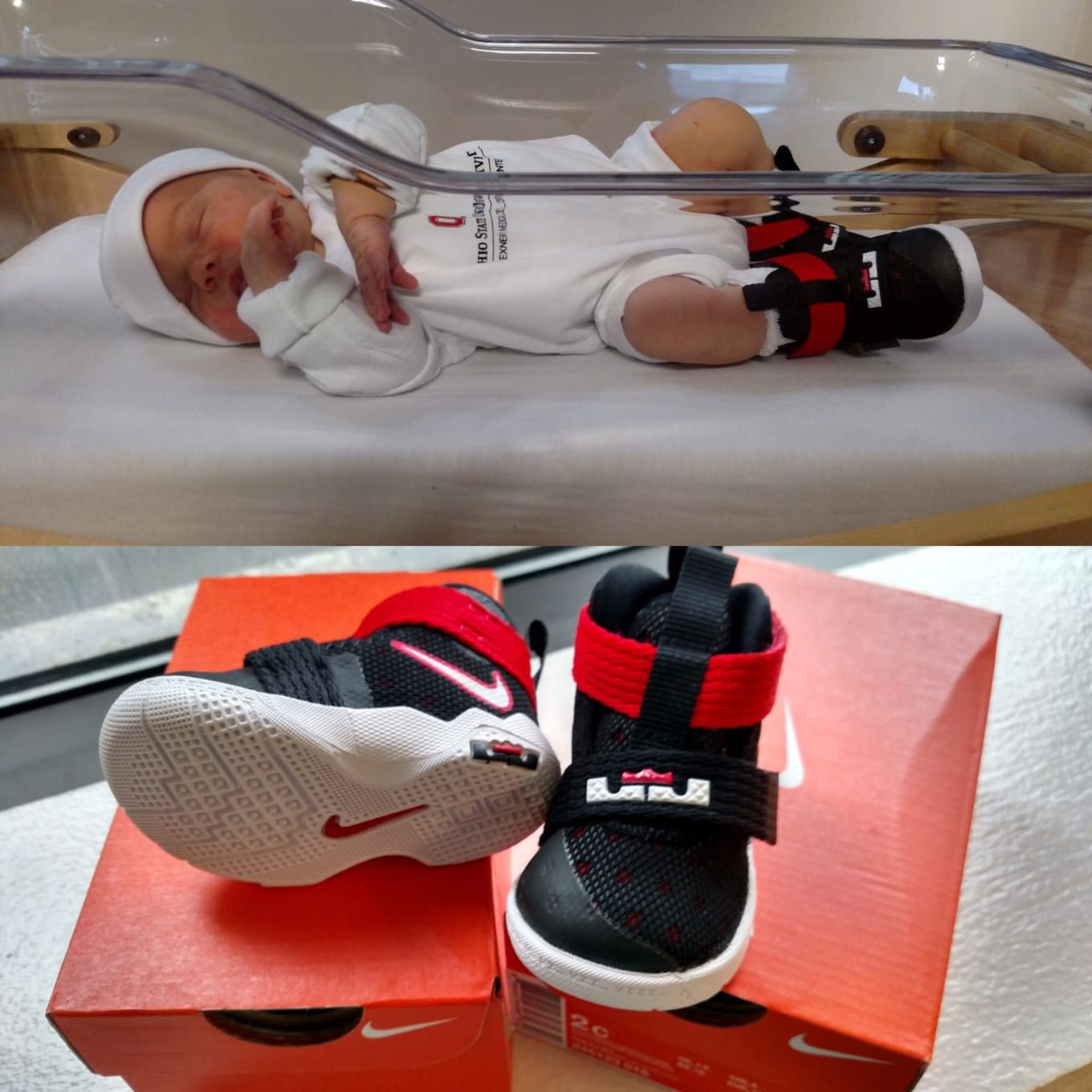 500858d4154 Ohio State University Is Giving Nike Zoom LeBron Soldier 10s to Newborn  Babies