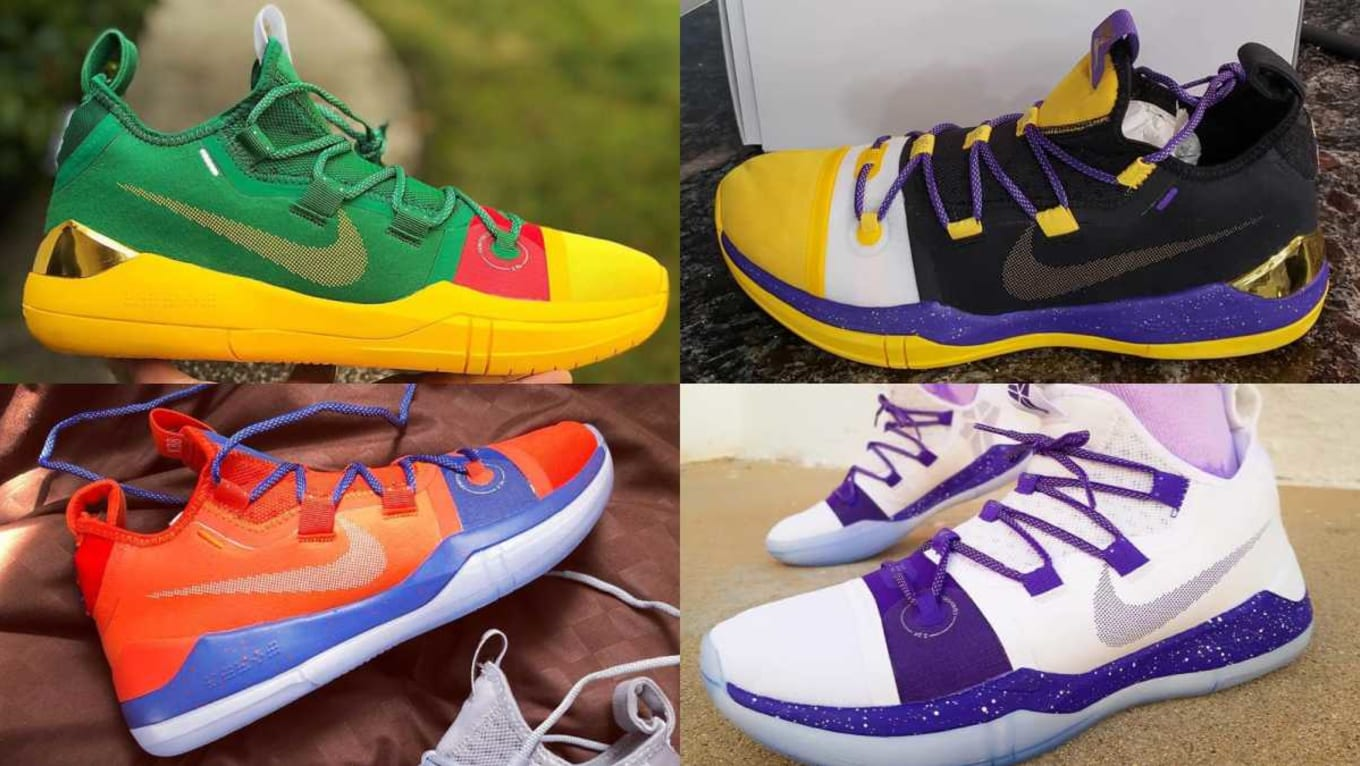 36a693f6b2 NIKEiD Nike By You Kobe A.D. Exodus Designs | Sole Collector