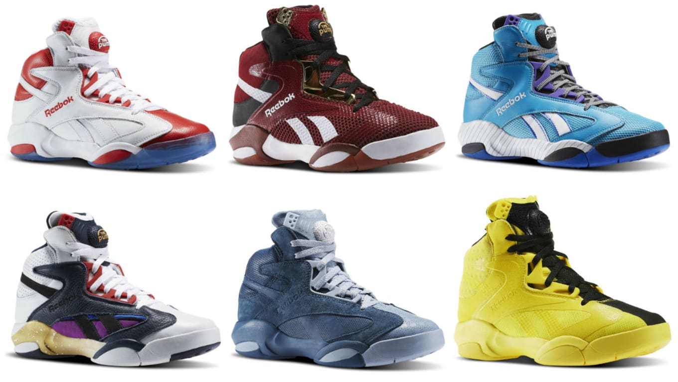 Reebok Shaq Attaq 2017 Retro Colorways Release Dates  6776a7547e84